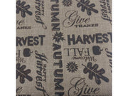 Brown Printed Jute Fabric Non Laminated Threading