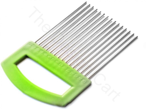 Green Flower Making Comb Tool