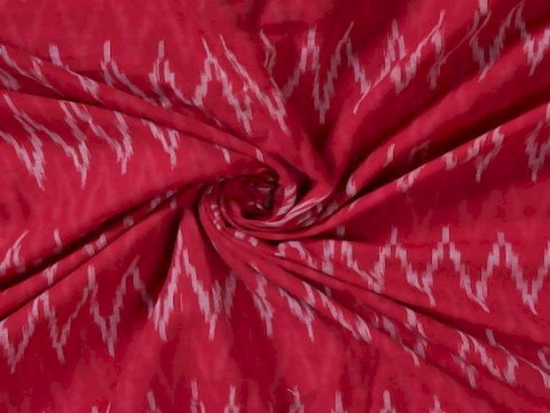 red-cotton-ikat-fabric-2