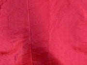 Red Plain Mill Dyed Poly Silk Fabric