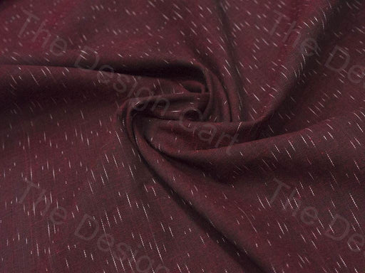3 Metres Precut Wine Red Ikat Cotton Fabric