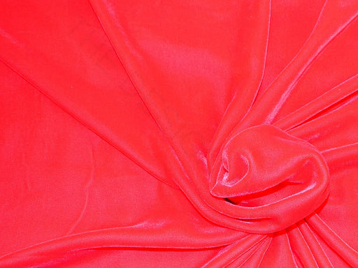 Plain Red Velvet Fabric