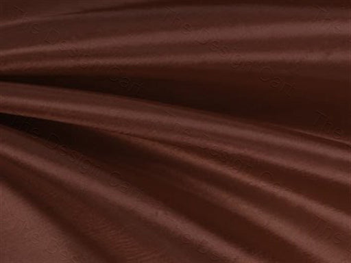 Dark Brown Taffeta Silk Fabric