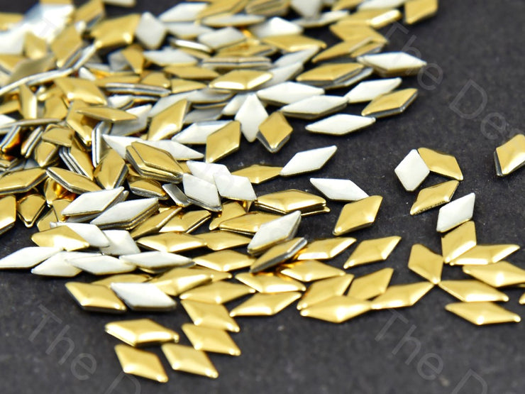 Golden Diamond Stud Hotfix Rhinestones (188471017506)