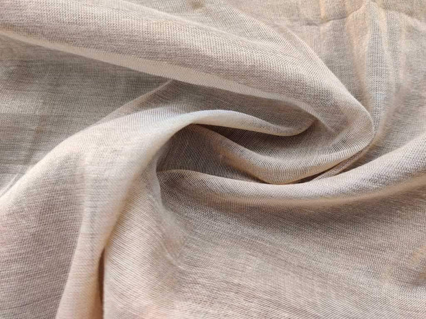 Golden Shimmer Plain Jute Fabric