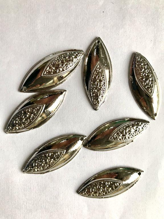 Silver Eye Metal Piece Embellishments