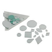 Assorted Pack of Stick On Glass Mirrors (4534128115781)