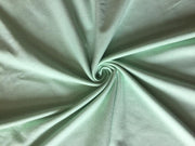 Green Solid Sinker Cotton Fabric