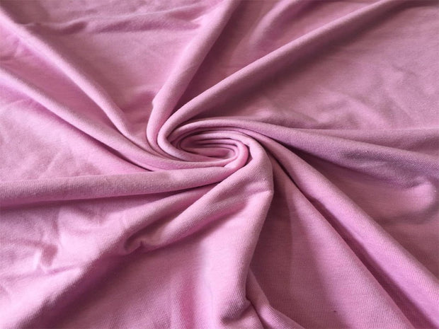 Deep Pink Solid Sinker Cotton Fabric