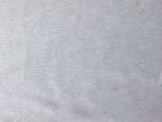 White Solid Sinker Cotton Fabric