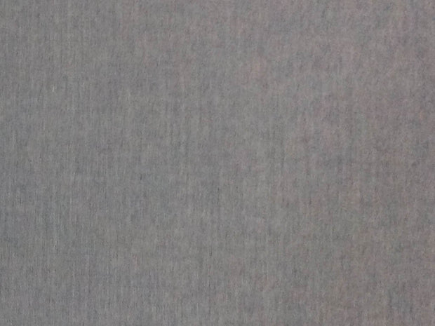Steel Gray Plain Wool Fabric