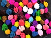 Assorted Pack of Wool Pom Poms | The Design Cart