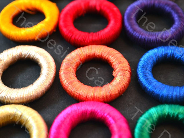 Assorted Pack of Thread Rings (1532202450978)