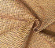 Light Brown Plain Yarn Dyed 4 Ply Cotton Fabric