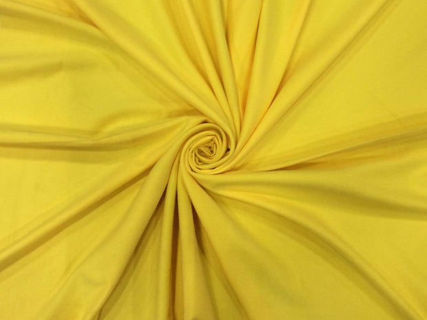 Yellow Plain Suede Fabric