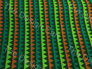Multicolour Vertical Steps Printed Cotton Fabric