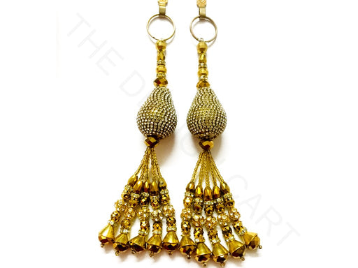 Golden Beads Work Latkan