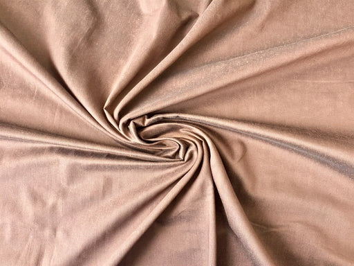 Chocolate Brown Banarasi Silk Fabric