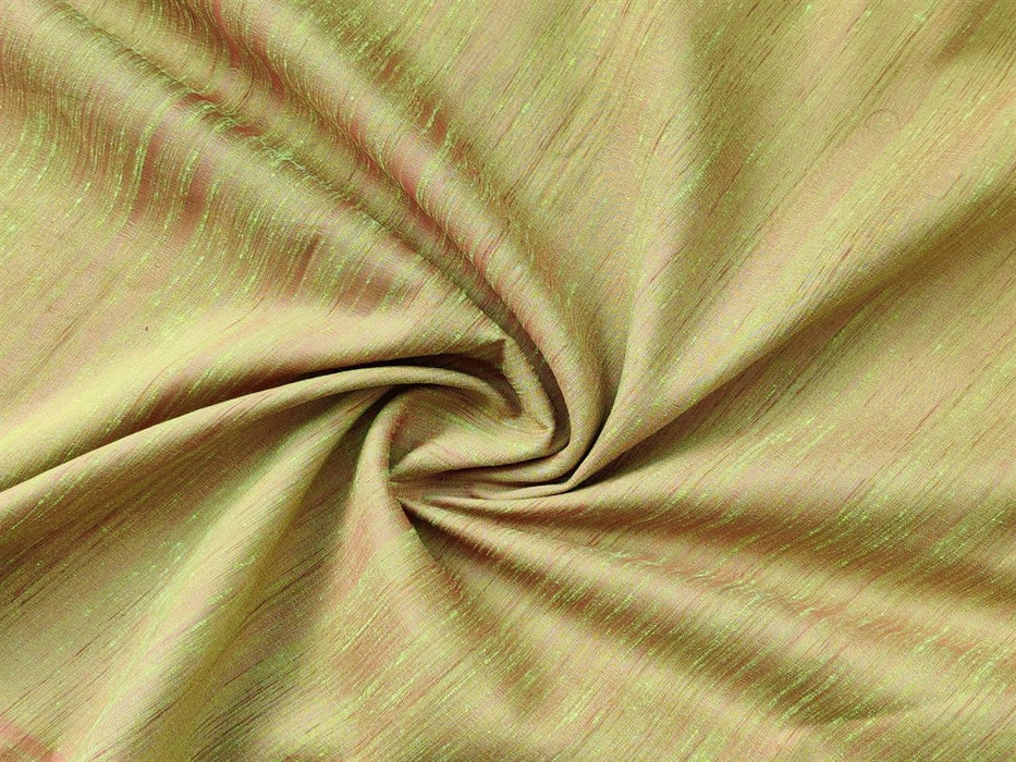 Green Pink Trichy Silk Fabric
