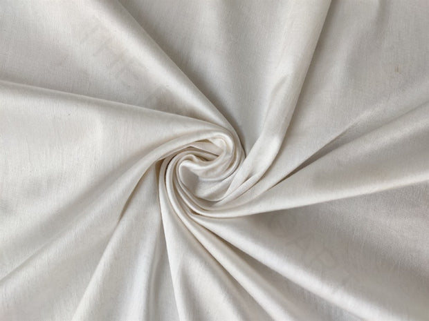White Dyeable Cotton Lycra Fabric | The Design Cart