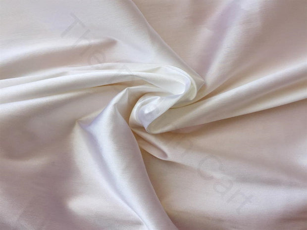 White Dyeable Cotton Lycra Fabric | The Design Cart (3751407943714)