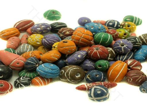 Multicolour Clay Beads