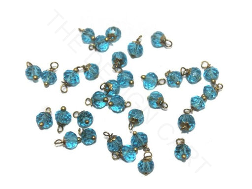 Turquoise Transparent Loreal Beads