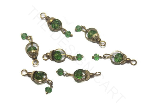 Transparent Green Ring Loreal Beads