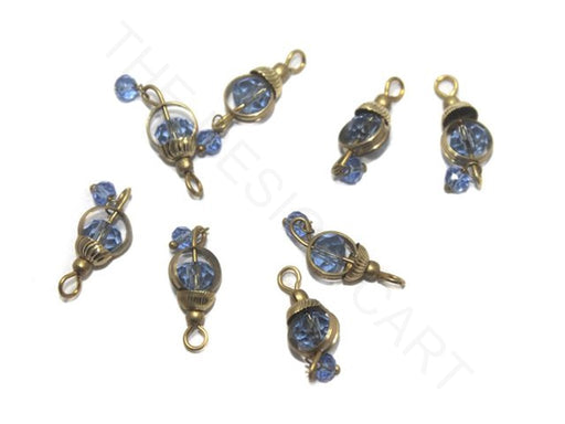 Transparent Blue Ring Loreal Beads