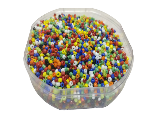 2 mm Mix Color Round Glass Beads