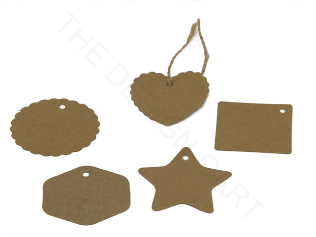 Brown Multi Paper Price Tags | The Design Cart (4357673353285)
