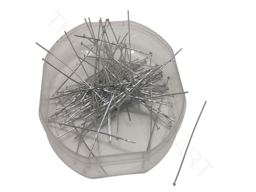 Silver Stainless Steel Head Pins