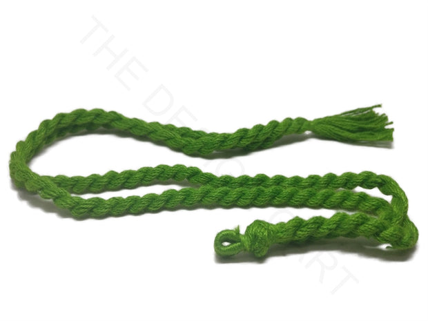 Green Adjustable Back Rope Necklace Dori | The Design Cart