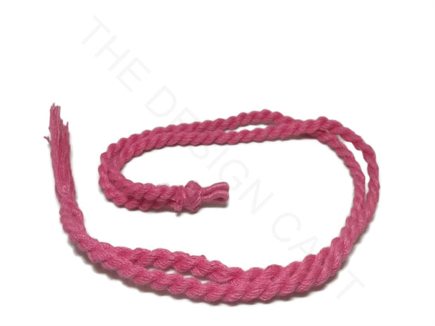 Pink Adjustable Back Rope Necklace Dori | The Design Cart