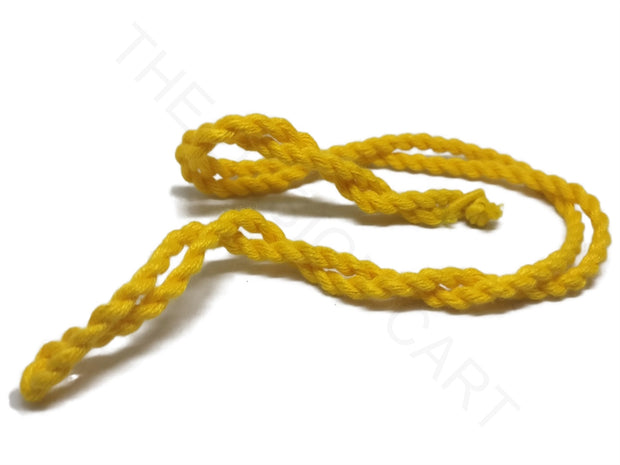 Yellow Handmade Jewelry Making Rope Cotton Dori | The Design Cart