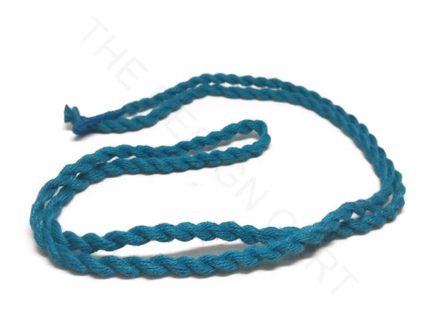 Blue Handmade Jewelry Making Rope Cotton Dori | The Design Cart