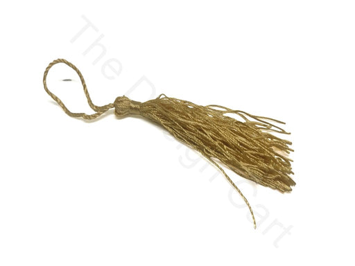 Golden Polyester Thread Tassels