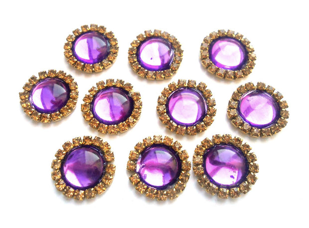 Purple Stone Patches | The Design Cart (4364323422277)