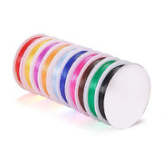 Multicolour Elastic Beading Wire | The Design Cart
