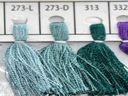 Sea Green Colour Set 1 Silk Threads