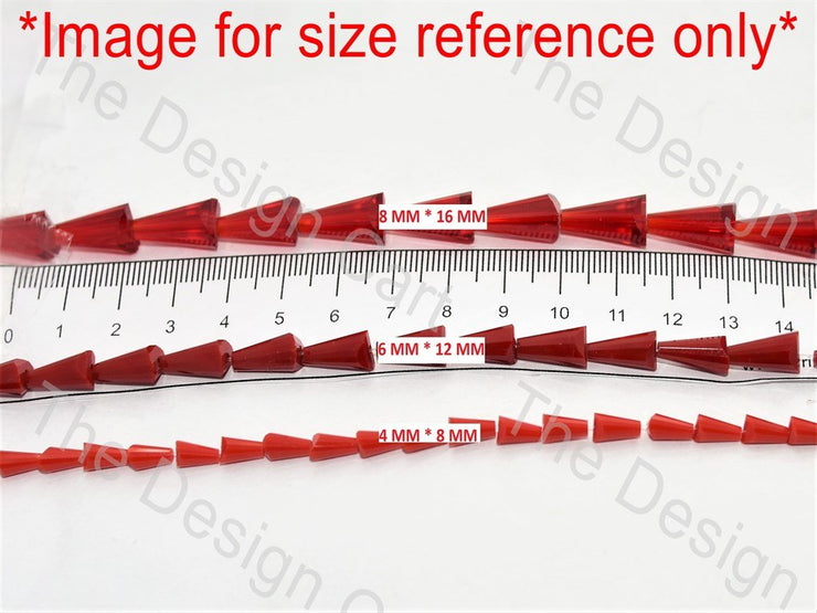Red Transparent Pencil Shaped - The Design Cart (11590497235)