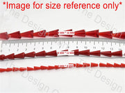 Dark Red Transparent Pencil Shaped - The Design Cart (11590496403)