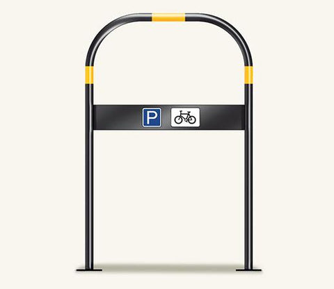 Red Route Ferrocast Cycle Stand