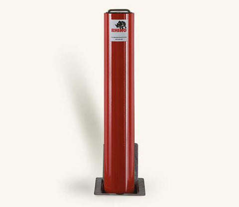 RT 114 670 Heavy Duty Round Powder Coated Steel Telescopic Bollard