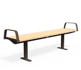 Citi Elements Bench - Softwood - Bronze