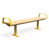 Citi Elements Bench - Softwood - Yellow 1023 (RAL 1023)
