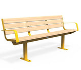 Citi Elements Seat - Softwood - Yellow 1023 (RAL 1023)