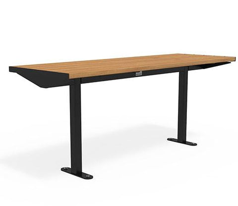 Citi Elements Table - Hardwood - Black (RAL 9005)