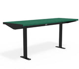 Citi Elements Table - Recycled Plastic - Black (RAL 9005) & Apple Green