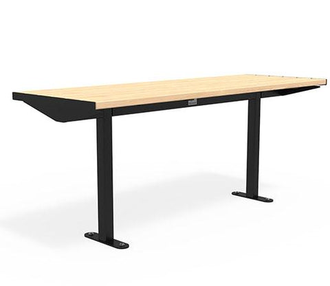 Citi Elements Table - Softwood - Black (RAL 9005)